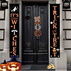 Pack of 2 Halloween Banner Set